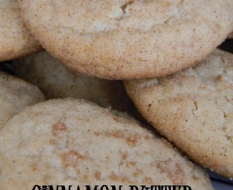 Cinnamon Butter Snickerdoodles