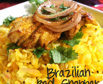 Brazilian Red Snapper and Lemon Rice