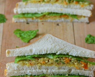 Egg Sandwich (with Veggies)