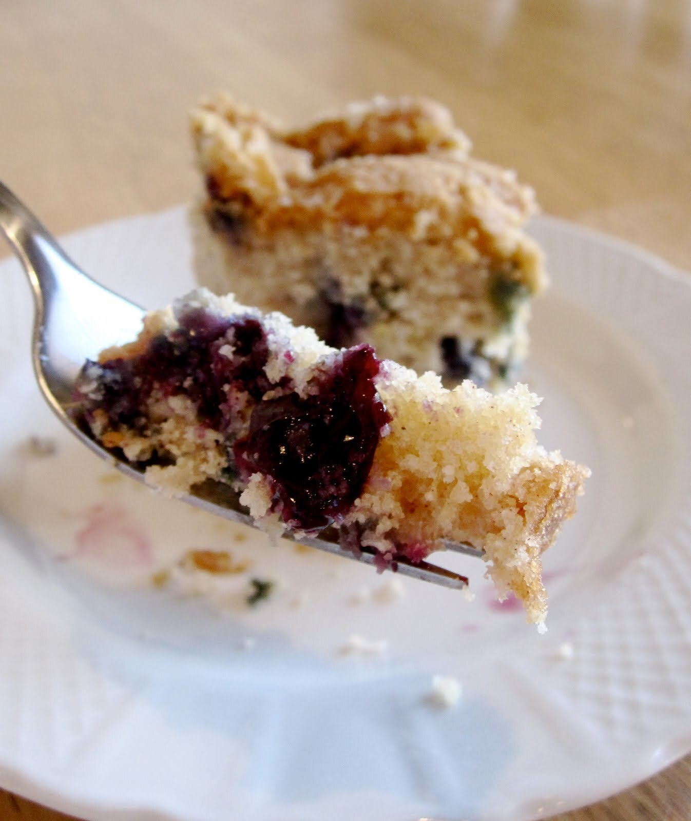Blueberry Yum Cake