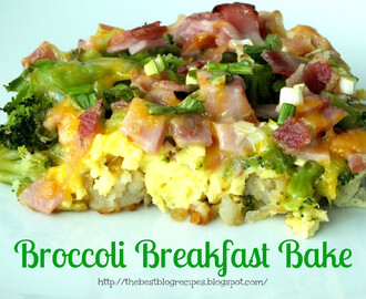 Broccoli Breakfast Bake
