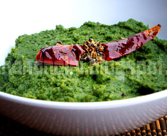 Vendhaya Keerai (Fenugreek Leaves) Masiyal