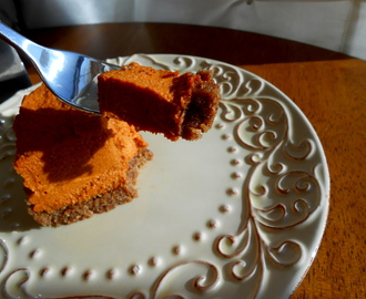 Sweet Carrot Pie! GF, V, SCD, BED!