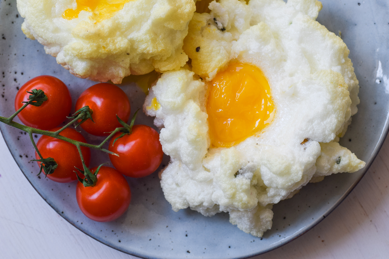 Der neue Eier-Trend – Low Carb Cloud Eggs