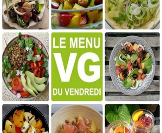 Le Menu VG du Vendredi : buffet de salades !