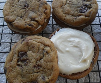 Cream Filled Chocolate Chip Cookies...The Best Refrigerator Challenge!