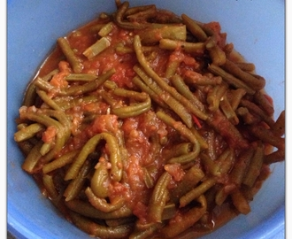 HARICOTS VERTS A LA TOMATE VERSION THERMOMIX
