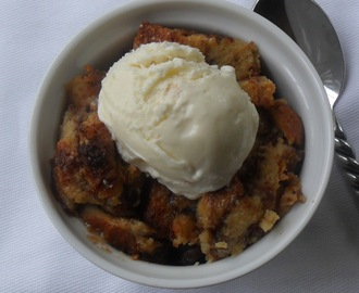 Apple Butter & Raisin Bread Pudding