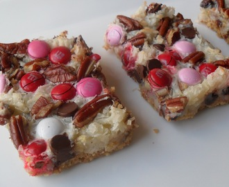 Magic Cookie Bars for Valentines
