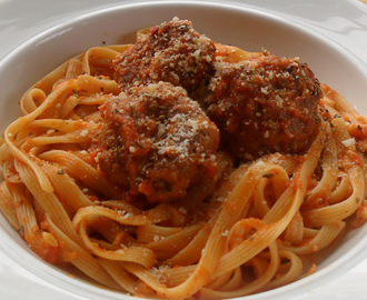 Meatballs and Spaghetti...Homemade Is Quick and Delicious!