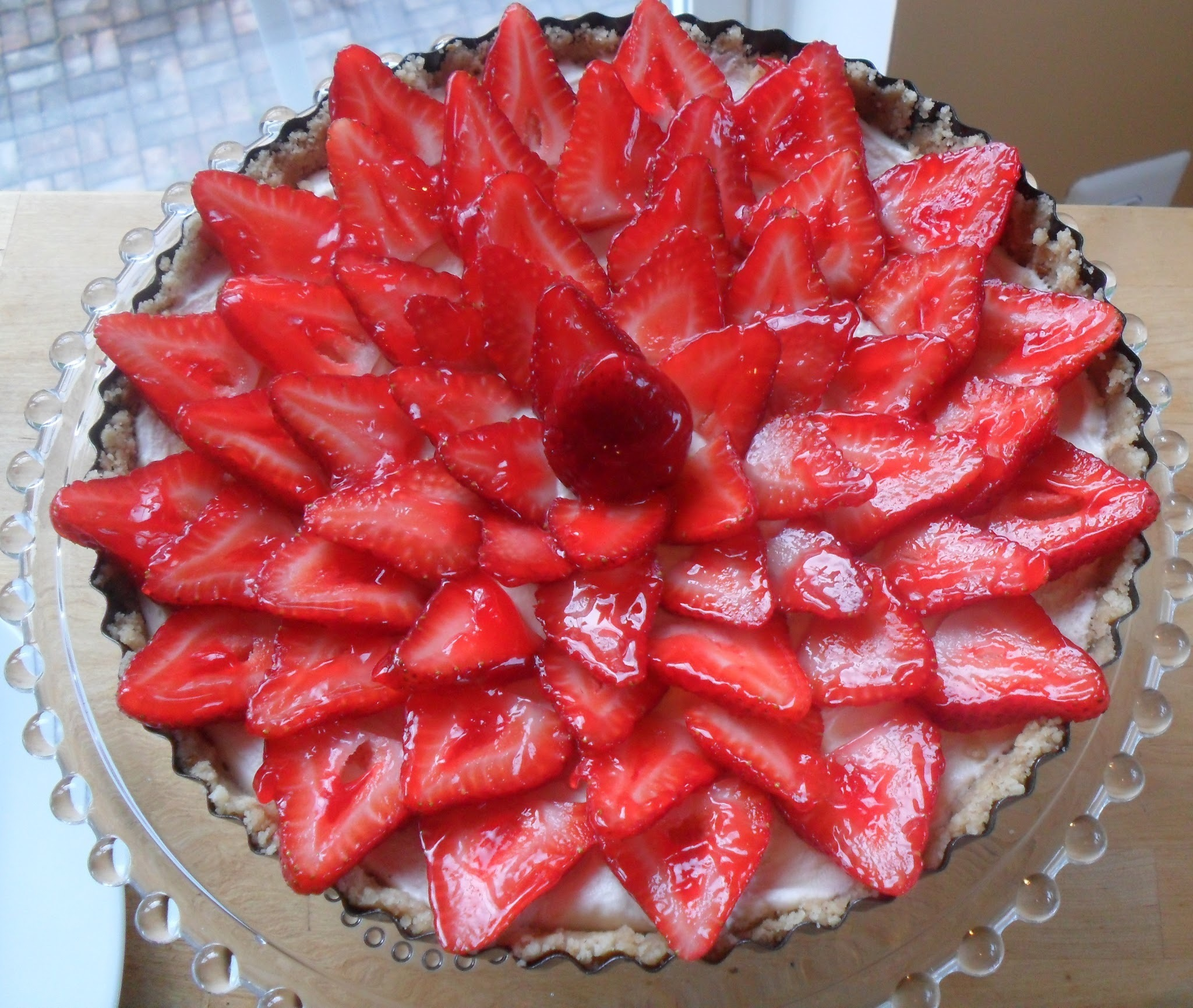 Strawberry Tart...Improving One Of My Favorite Things
