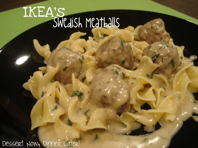 IKEA's Swedish Meatballs