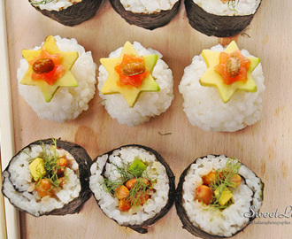 Sushi with Natto / Sushi s Nattom