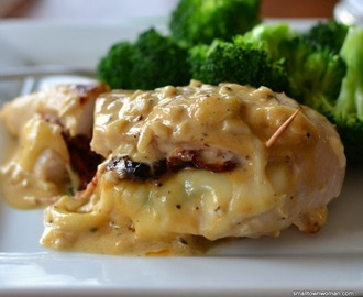 Sun Dried Tomato and Mozzarella Stuffed Chicken