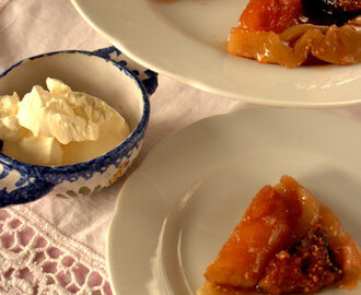 Recipe: Fig, Apple and Cardamom Tarte Tartin