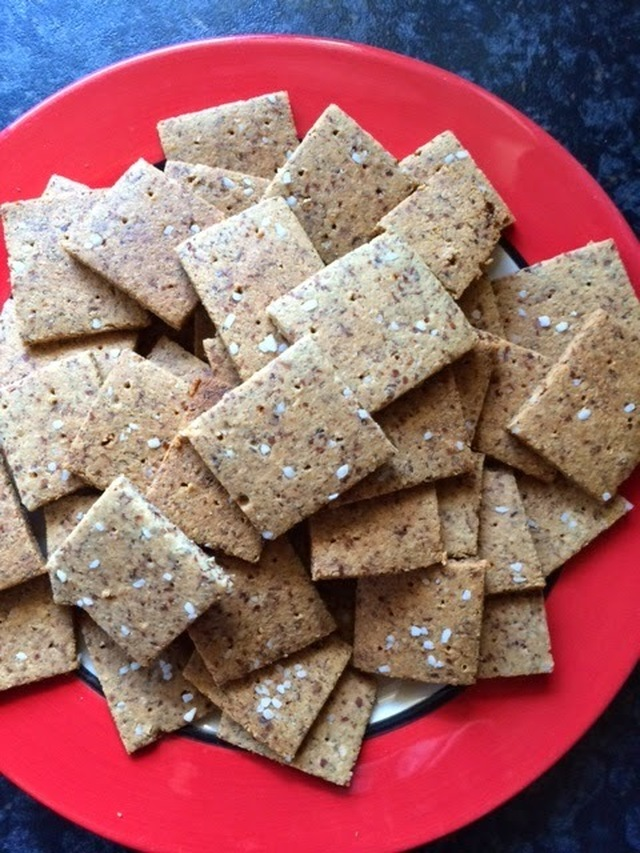 Recept: low carb crackers / toastjes