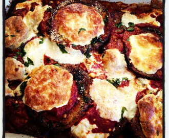 Meatless Monday :: Eggplant Parmigiana
