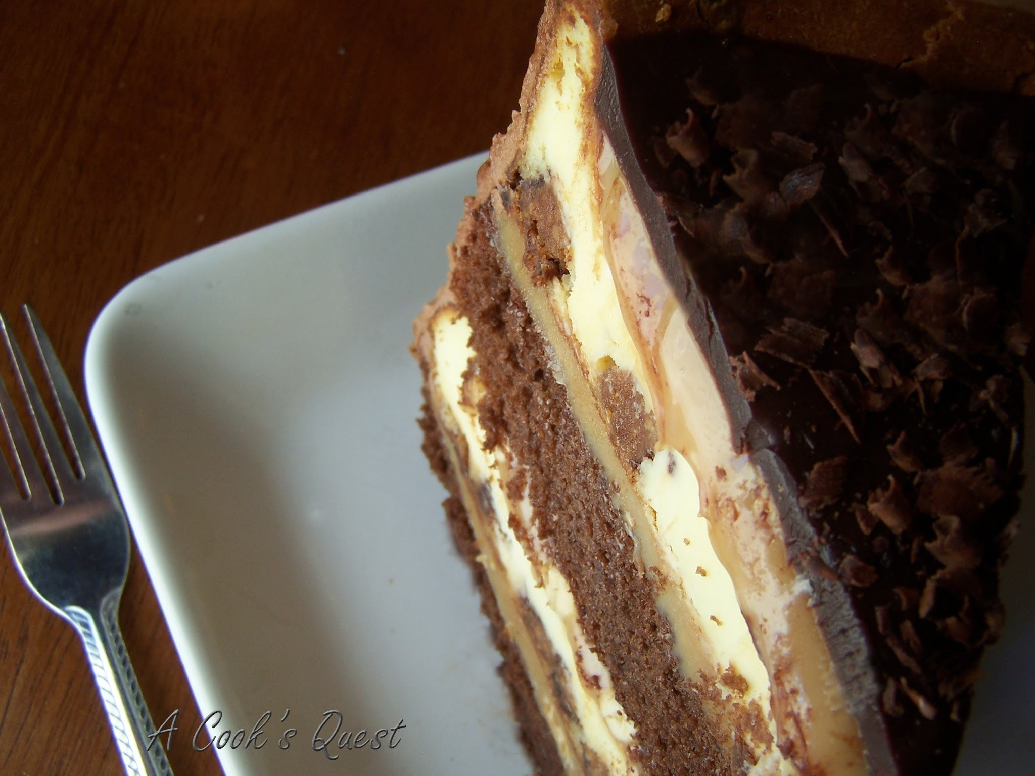 Peanut Butter Chocolate Cake Cheesecake