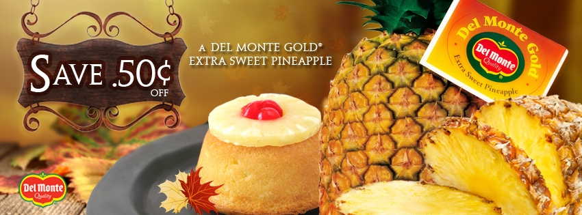 Pineapple Coffee Cake Recipe and Del Monte Coupon Alert