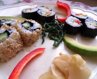 Vegetarische sushi revisited