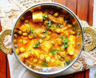 How to make Matar Aloo Curry