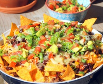 Loaded nachos – Mexicaanse tortillaschotel