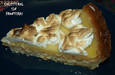 TARTA DE LIMON Y MERENGUE (Thermomix)