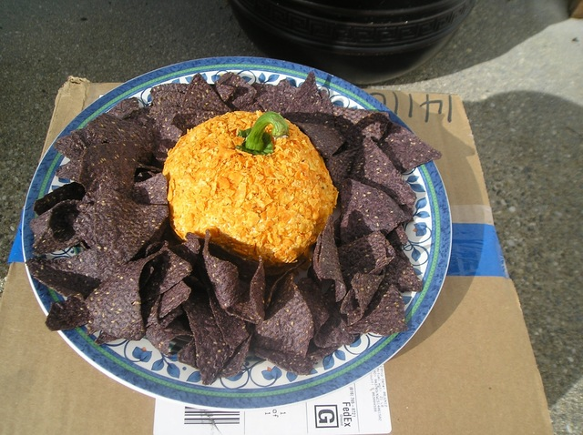 Pumpkin Nacho Cheese Ball
