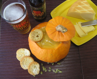 Pumpkin Beer Cheese Soup