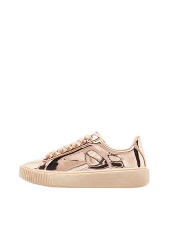 BIANCO Laced Up Sneakers Kvinna Brun