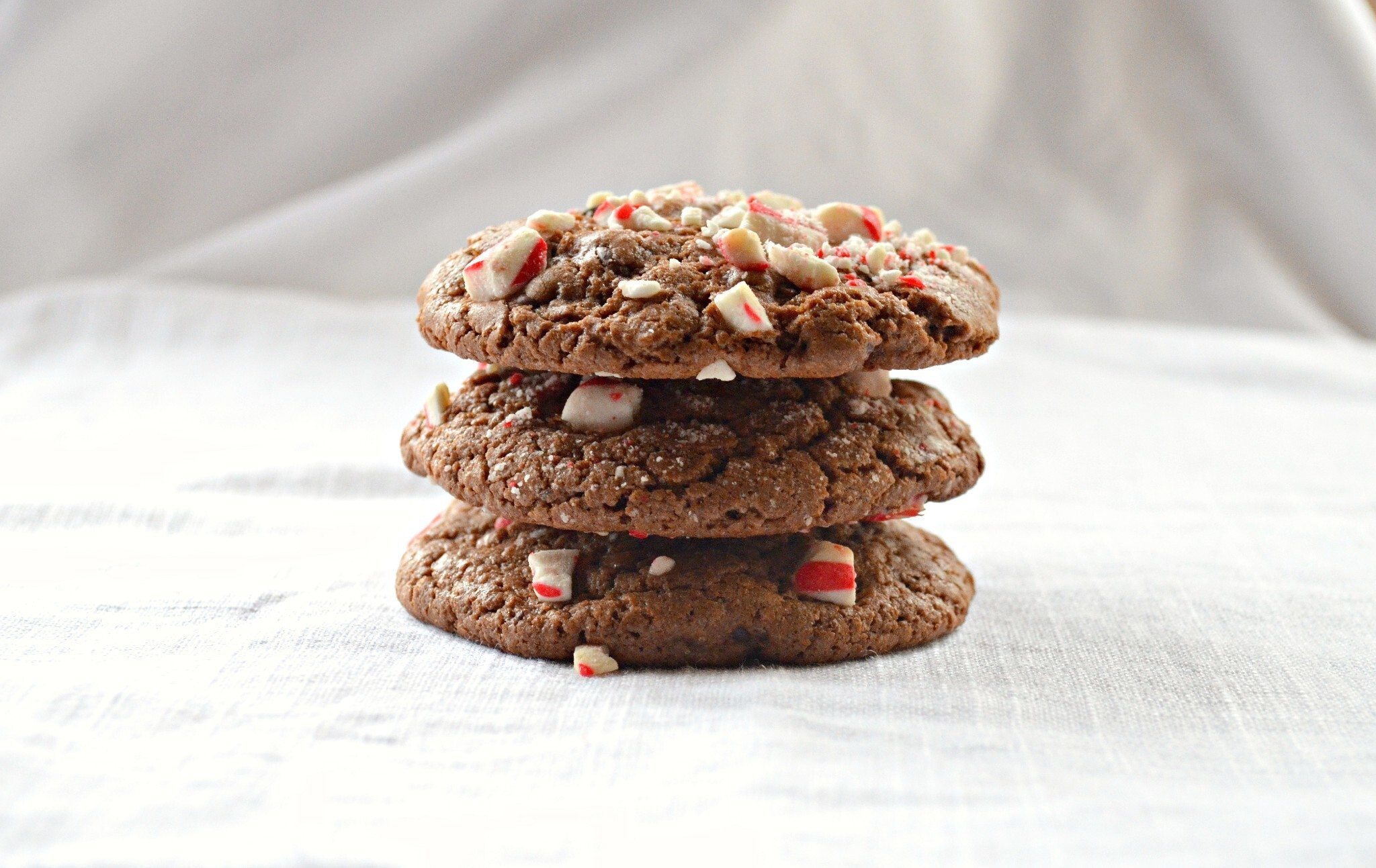 Peppermint Mocha Chocolate Chip Cookies