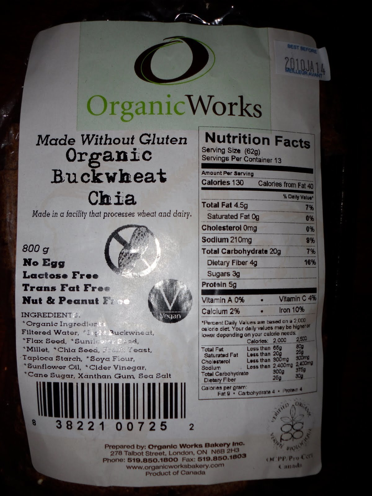Best Gluten Free Bread EVER!