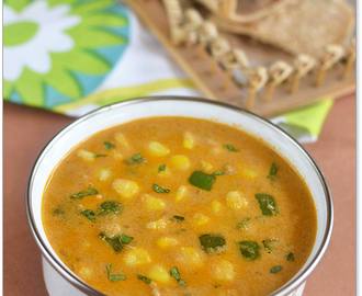 Sweet Corn Kurma (Sweet Corn Korma)