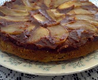 Cinnamon Caramel Apple Walnut Cake