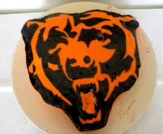 Chicago Bears torta