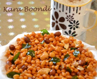 How to make Kara Boondhi at home ? / Kara Boondhi Recipe / Diwali Snacks Recipes