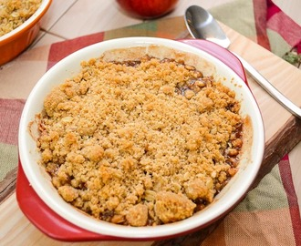 Apple Crisp for 2!