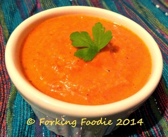 Romesco Sauce (Roasted Tomato and Almond Sauce)