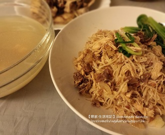 XO 醬肉絲炒麵 Fried Noodles with XO Sauce (附食譜)