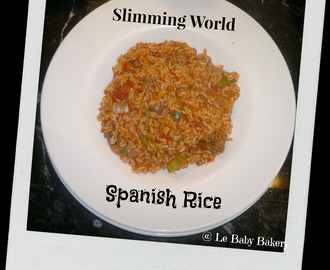 Slimming World - Spanish Rice Recipe