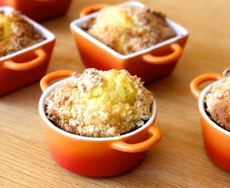 Recipe: Apple crumble cocottes