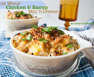 Whole Wheat Chicken & Bacon Mac 'n Cheese