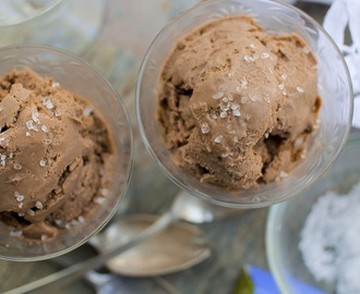 Made for Each Other. Chocolate Olive Oil Ice Cream.