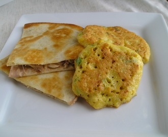Thanksgiving Leftovers: Spicy Cranberry Turkey Quesadillas