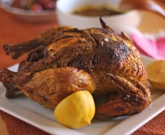 Daring Cooks' November 2012 ~Brining and Roasting/ North Kerala Stuffed Chicken