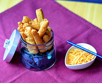 Fiery Cheese Straws