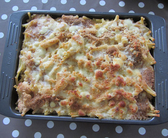 Gratin de pâtes « Macaroni and Cheese »