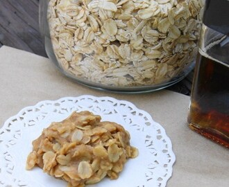 Vermont Maple No-Bake Cookies {Thanks, Tonewood Maple!}