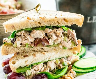 Knockout Chicken Salad Sandwiches