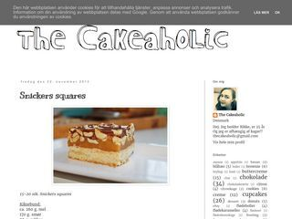 The Cakeaholic
